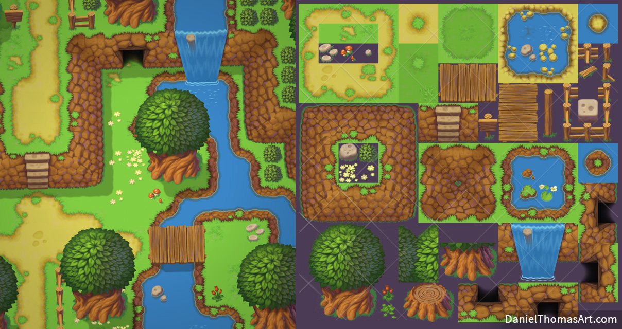 Top-down Tilesets